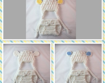 Baby Boy Lamb Outfit, Little Lamb Outfit, Boy Lamb Hat, Easter Lamb Outfit, Newborn Lamb Outfit, Boy Easter Outfit,Sheep Outfit,First Easter