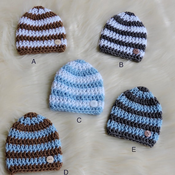 Tianhaik Neugeborenes Baby Kleinkind M/ädchen Winter Hut M/ütze Kappe R/üsche Bowknot Turban Knoten Hut