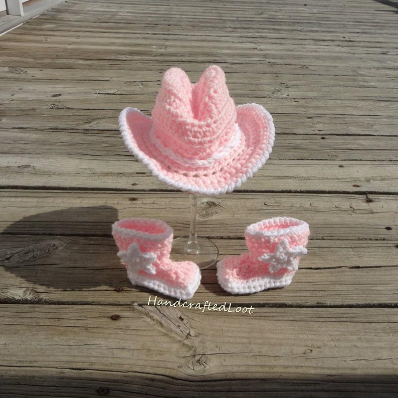9323da36b1fac Newborn Girl Cowgirl Hat Baby Girl Cowgirl Hat and Boots