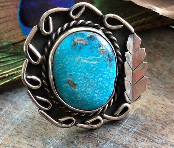 Beautiful vintage 60's Navajo ring