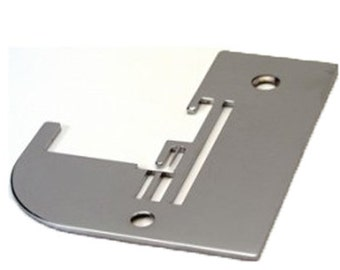 Janome 11454 SERGER Needle Plate - White Serger Model 534, 534D - Janome Newhome Serger Models 534