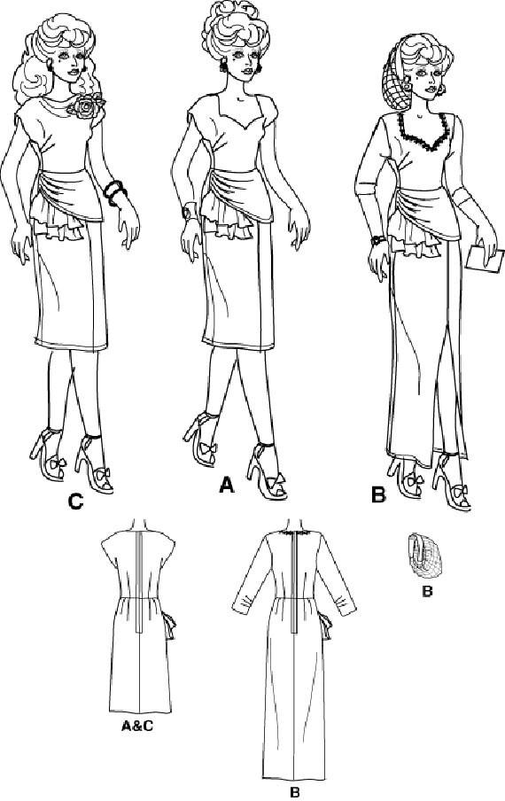 1940er Jahre Kabarett Sänger Muster Jazz-Sängerin Retro Kostüm | Etsy