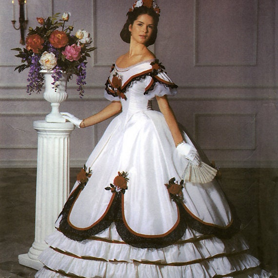 Bürgerkrieg Reenactment Ballkleid Kleid Mode Historiker Martha | Etsy