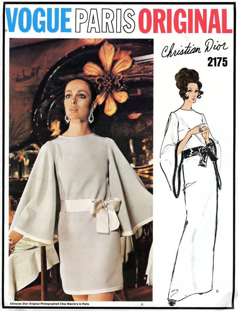 310837e6c5f Vogue 2175 monopièce robe de soirée ou robe de Cocktail évasée