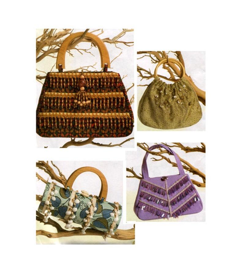 d656d35879 Vogue HANDBAG PURSE PATTERN Designer Look Bags Accessories | Etsy