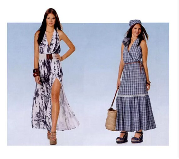 Maxi Halter Dress Pattern