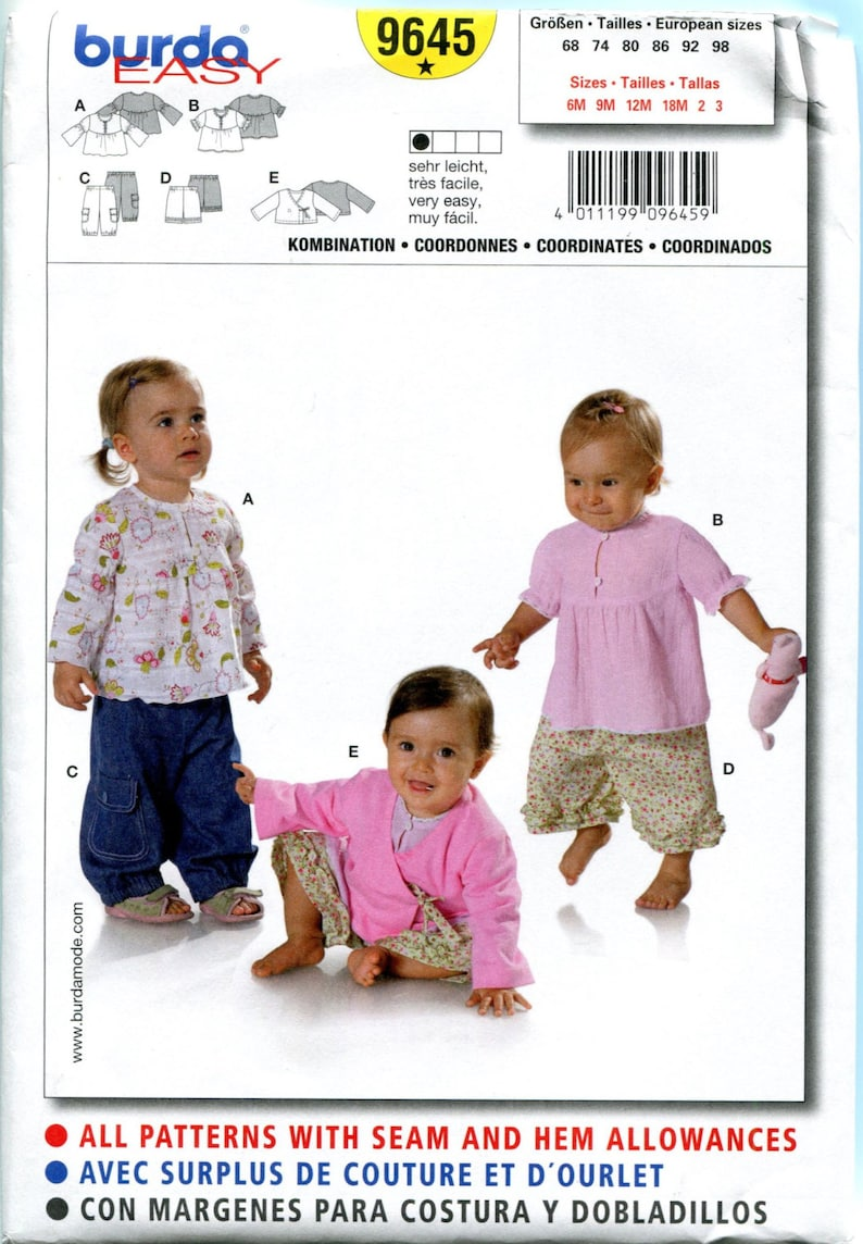 42d1d3f626ae BABY   TODDLER GIRLS Pants and Top Pattern Crop Pants Wrap