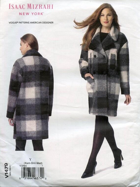 VOGUE 1479 Mantel Muster Zweireiher Mantel breiten Kragen   Etsy e12c992650