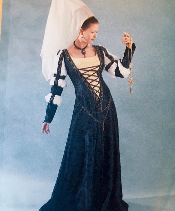 McCall's 60 Medieval Dress Pattern Renaissance Gown Size Etsy Interesting Medieval Dress Pattern