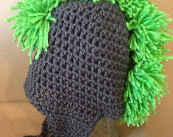 Green Mohawk Hat