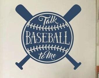 Baseball Decal for Wall, Baseball Bedroom Decor for Boys Room, Baseball Decorations, Baseball Wall Art, Baseball Decal, Baseball Decor