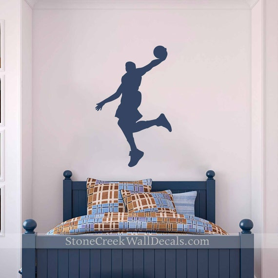 Basketball Wall Decal Vinyl Wall Lettering, Boys Room Wall Decals, Sports  Wall Art Decal, Basketball Wall Sticker, Childrens Wall Decor