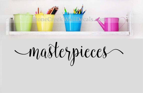 Masterpieces Wall Decal Childrens Wall Decals Playroom