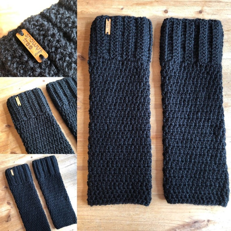 Handcrafted Adult Leg Warmers on Vancouver Island Made in Canada