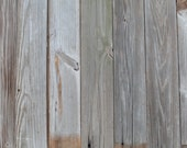 Reclaimed Gray Wood- Paneling - Weathered Gray Siding - Authentic and Vintage Patina