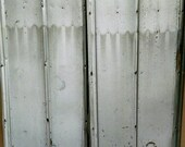 Metal Roofing Barn Silver Tin Beautiful Reclaimed Rustic Weathered Patina FREE SHIPPING