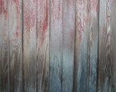 Reclaimed Barn Wood Tongue and Groove Boards - Paneling Weathered Gray and Red Barn Wood Siding - Authentic and Vintage Patina FREE SHIPPING
