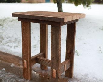 Barn Wood Pub Table Trestle Legs   Farmhouse Style Furniture   Cabin Lodge   FREE SHIPPING in the USA