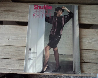Shuttle Spindle & Dyepot Back Issue Magazine Winter 1985 Issue 65