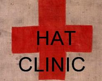 Hat Clinic--Repair and Make-over for your Special Hat