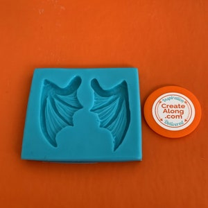 asymmetrical for fimo wepam wings silicone mold