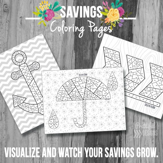 savings coloring pages - photo#20