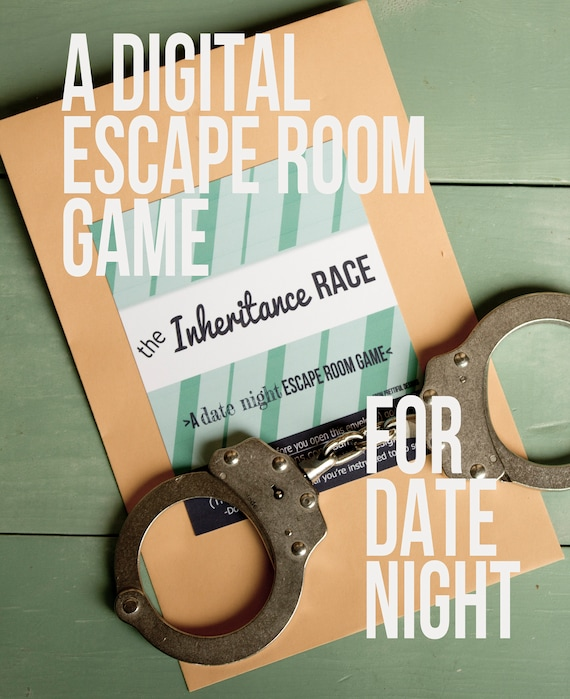 photo relating to Escape Room Printable referred to as Escape Place Recreation - Day Evening - The Inheritance Race
