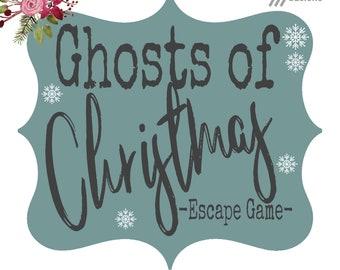Christmas Escape Room Game Digital Printable