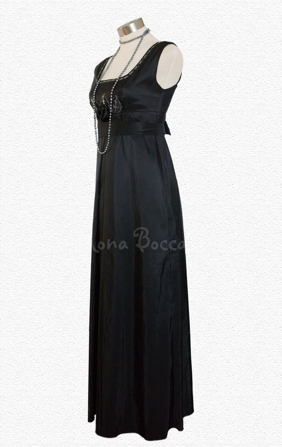Vintage Tea Dresses, Floral Tea Dresses, Tea Length Dresses Edwardian Evening Dress $158.37 AT vintagedancer.com