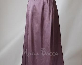 Edwardian dress Downton Abbey Purple amethyst dress Edwardian bridesmaid Titanic 1912 Eggplant bridesmaid dress Murder mystery dinner