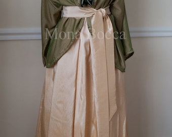 Edwardian dress handmade to order in England with jacket  Plus size Lady Mary Crawley Downton Abbey vintage styled Made to order