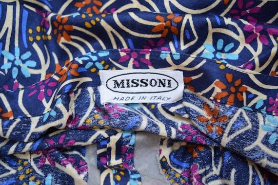 Missoni Knit Dress/ Designer Tee Shirt Dress w Pe… - image 6