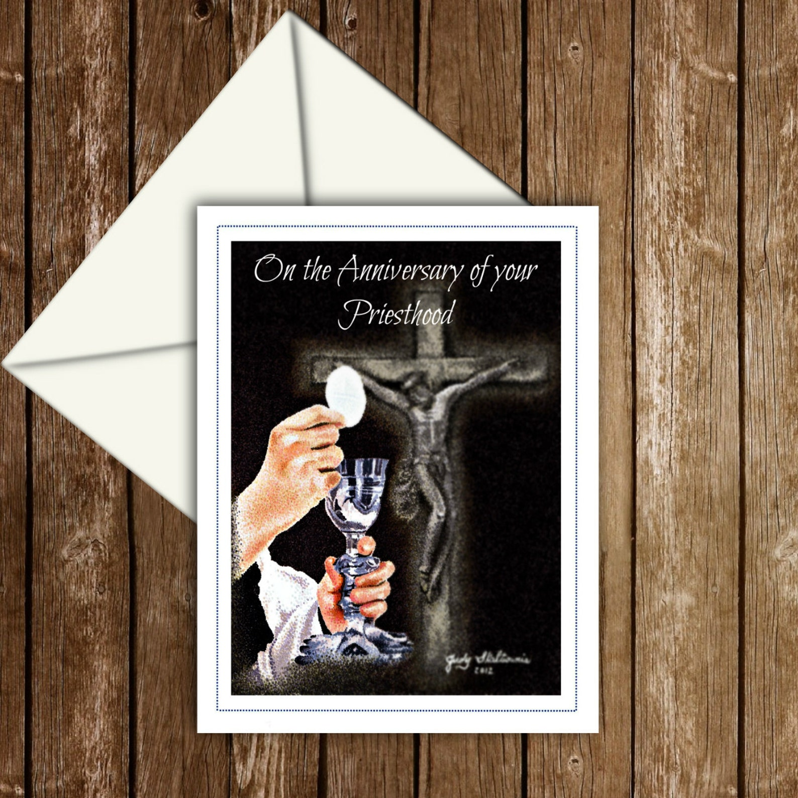 priesthood anniversary card  etsy