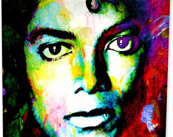 Michael Jackson art print wall decor | Invest in Signed Historic Artwork Today! - mjs1.mj.m by Mark Lewis Art ®
