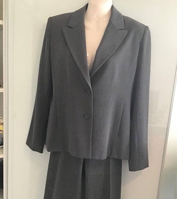 Women's Pant Suit, 90s Classic Blazer & High Waist