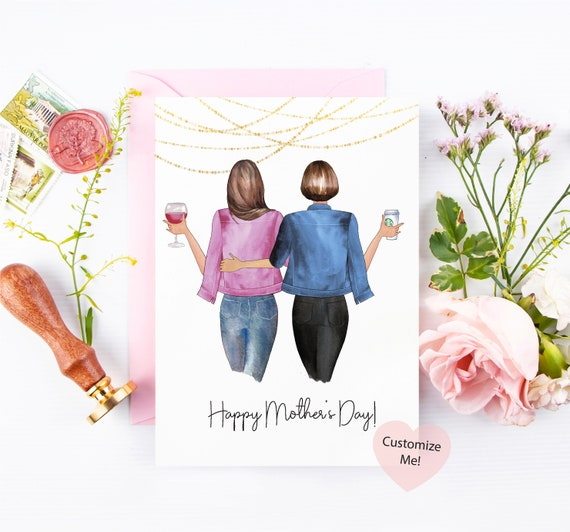 Custom Happy Mothers Day Card