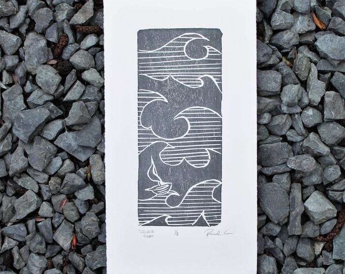 Silver Seas Print