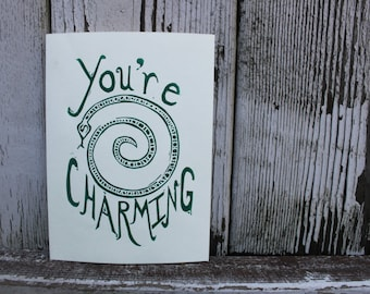 You're Charming Greeting Card