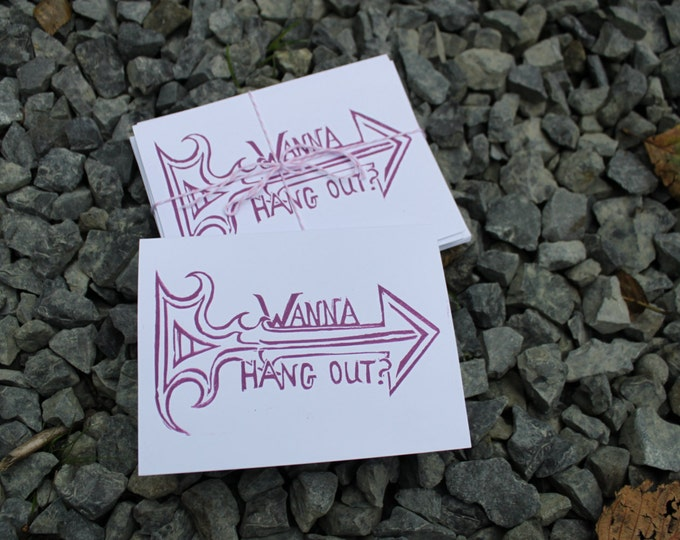 Wanna Hang Out? Greeting Card