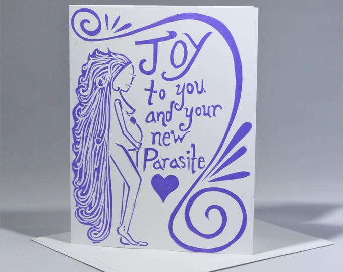 Congratulations Pregnancy Funny Gretting Card