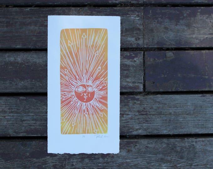 Coral Sun Small Print
