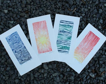 Small Editions of Hand Printed Work
