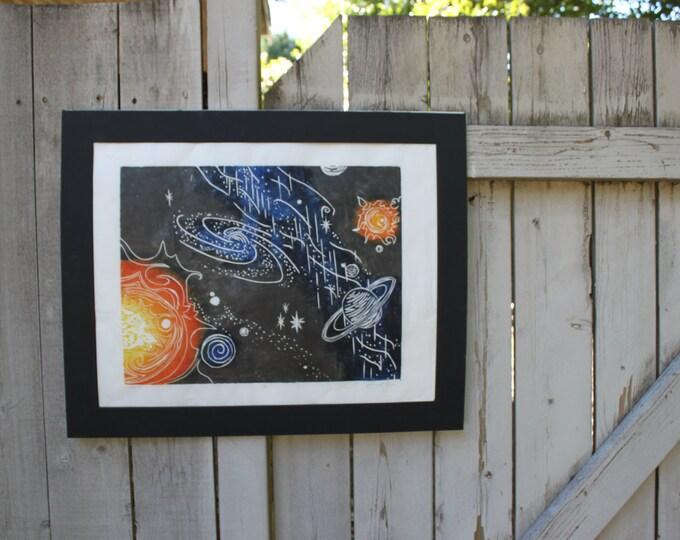 Space No. 1 Print