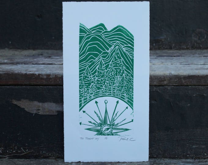 The Forest Way Small Edition Print
