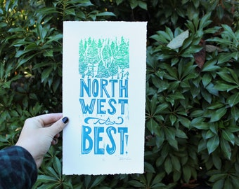 Northwest Is Best Small Print