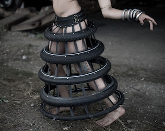 Queen of the Wasteland Bike Tire Skirt
