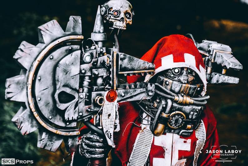 Warhammer 40K Resin Cast Skull Purity Seals