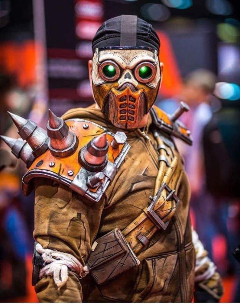 Borderlands Bandit Steve Cosplay Mask no LEDs