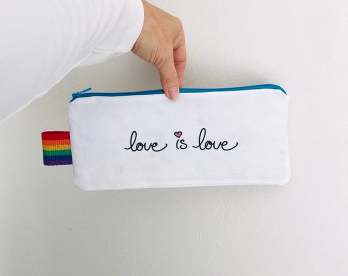 PRIDE --- Lined Zipper Bag - FREE SHIPPING!