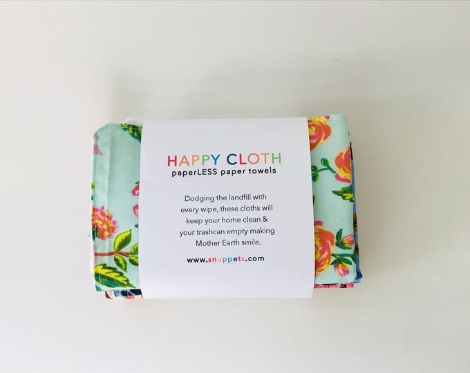 HAPPY CLOTH - paperLESS paper towels